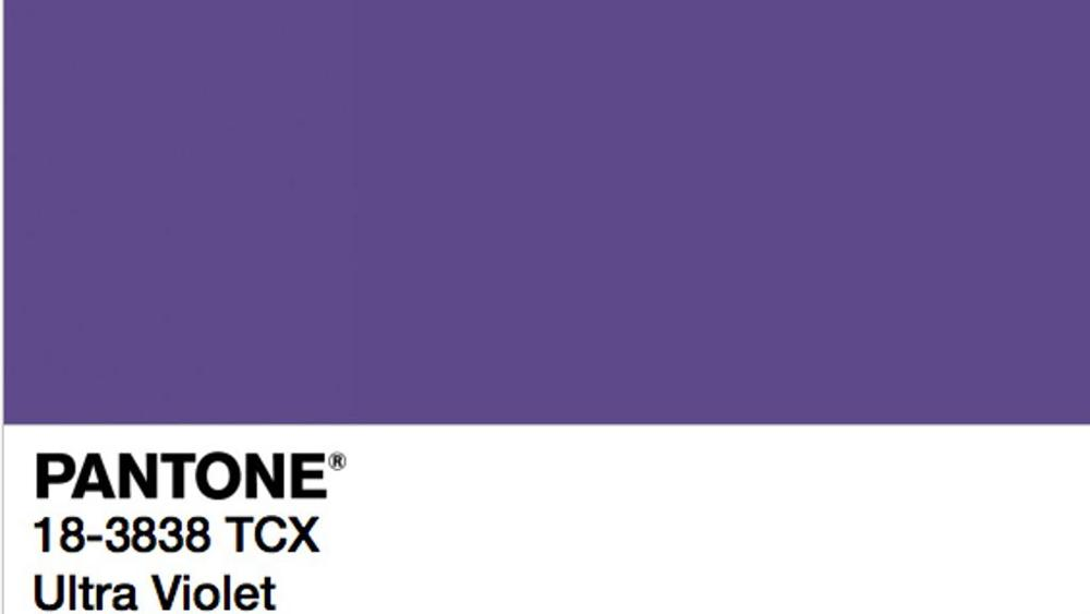 ultra violet il colore pantone 2018 anger benevento. Black Bedroom Furniture Sets. Home Design Ideas